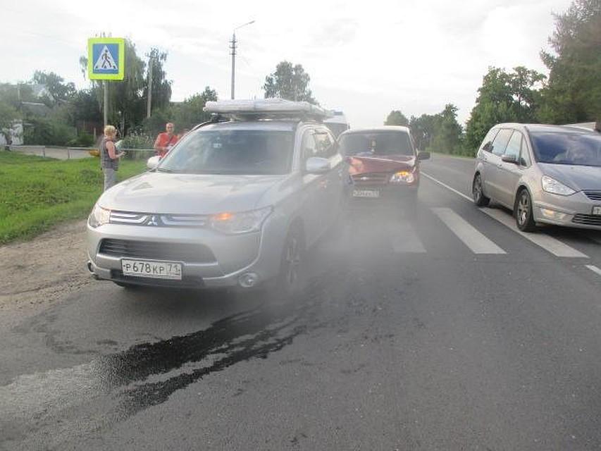 Семилетняя девочка пострадала в трагедии наОрловском шоссе Тулы