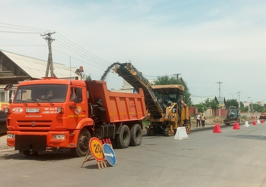 Ремонт улицы Симбирской вВолгограде могут закончить преждевременно
