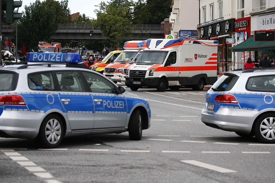ВГермании произошел взрыв , есть раненые