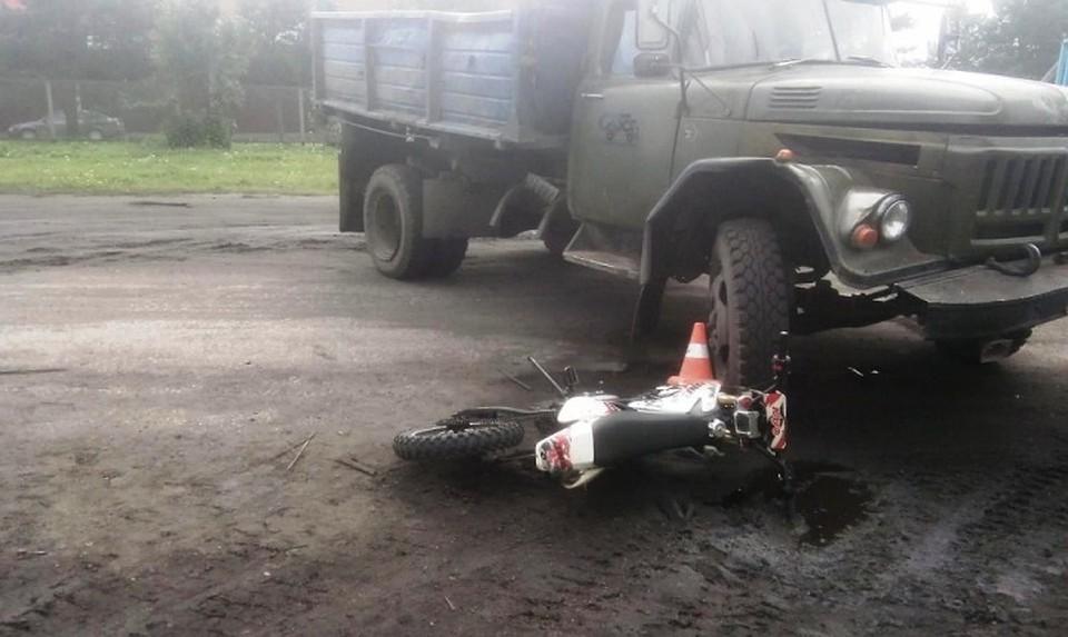 ВСвердловской области вовремя ДТП умер ребенок, управляющий мотоциклом