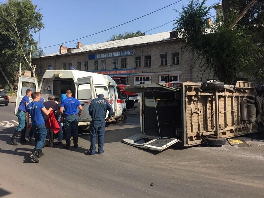 Пятеро пострадали в трагедии савтобусом илегковым автомобилем вСамаре