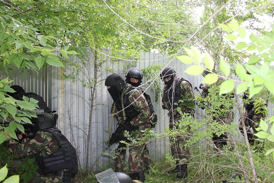 ВСамарской области бойцы ОМОН взяли штурмом дом наркоторговцев