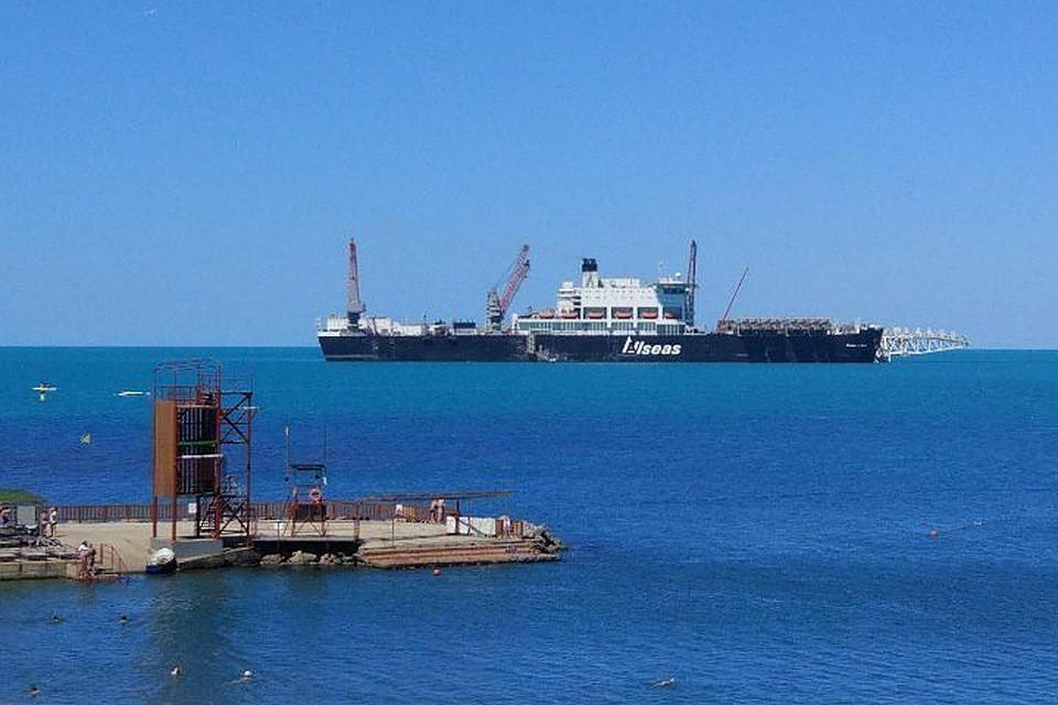Газпром уложил более 700 километров морского участка Турецкого потока