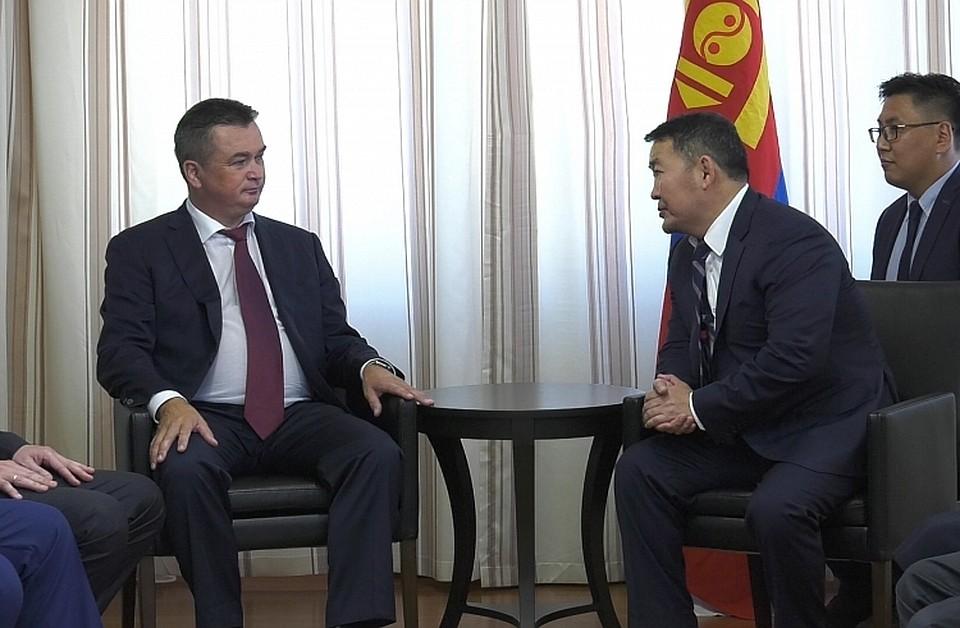 Монголия заинтересована виспользовании порта Восточный— Баттулга Халтмаагийн