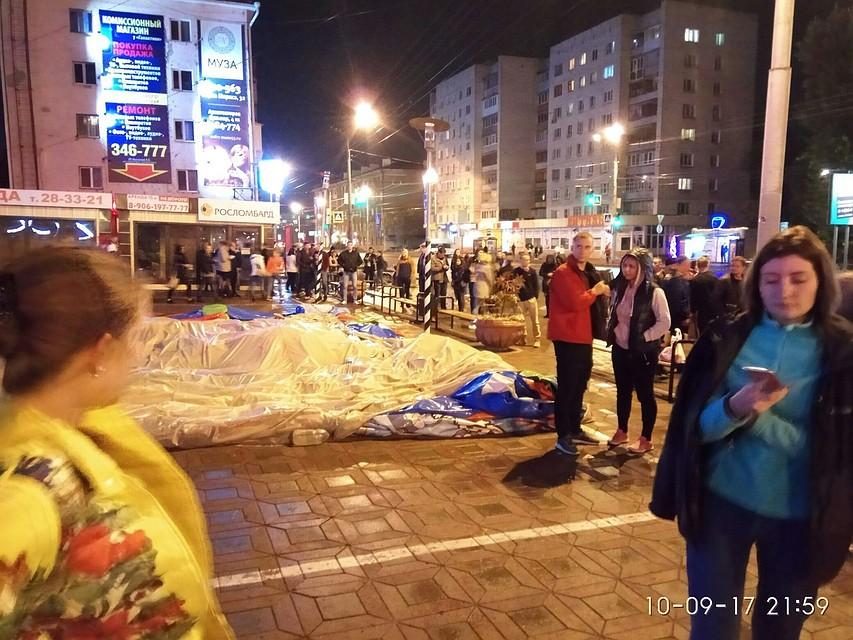 ВОмске мэрию эвакуируют из-за сообщения обомбе