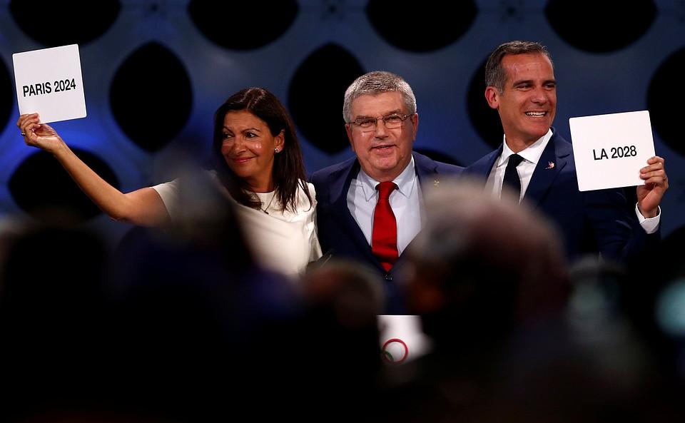 Столицами Олимпийских Игр 2024 и2028 годов станут Париж иЛос-Анджелес