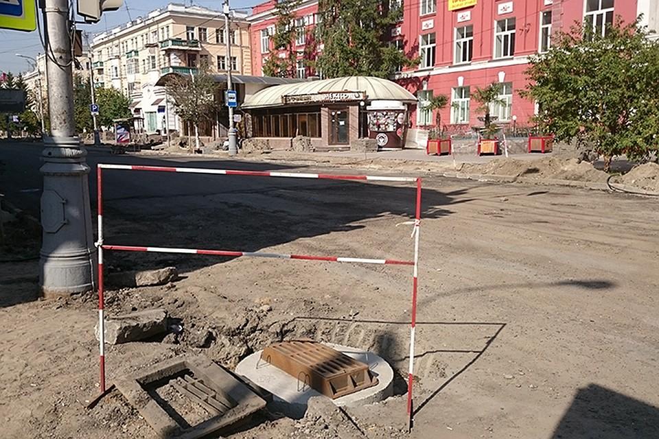 Улицу Карла Маркса врайоне ЦУМа закроют из-за возведения «ливневки»