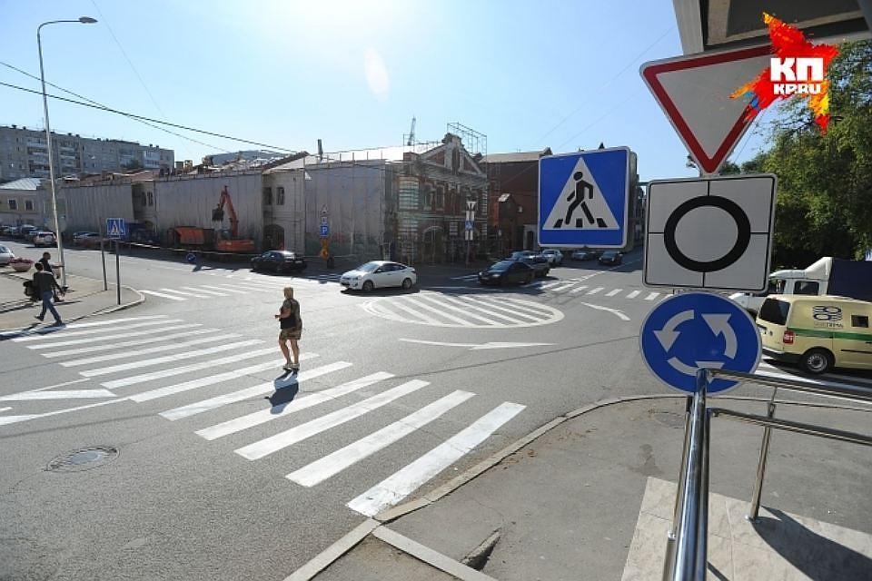ВПерми на 3-х уличных перекрестках появятся мини-кольца