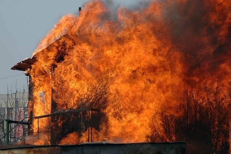 Женщина сгорела живьем впожаре вОктябрьском районе