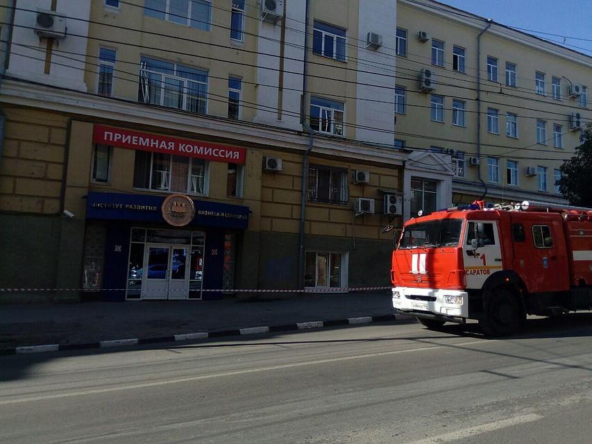 ВСаратове из-за звонка о«минировании» эвакуирован корпус СГТУ
