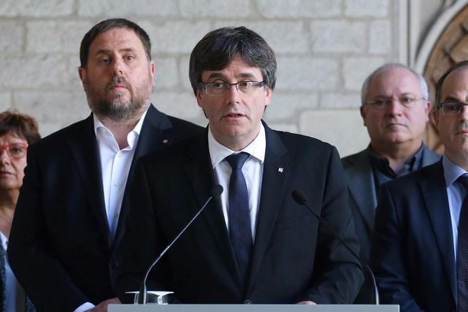 Регион фактически лишен автономии— руководитель Каталонии