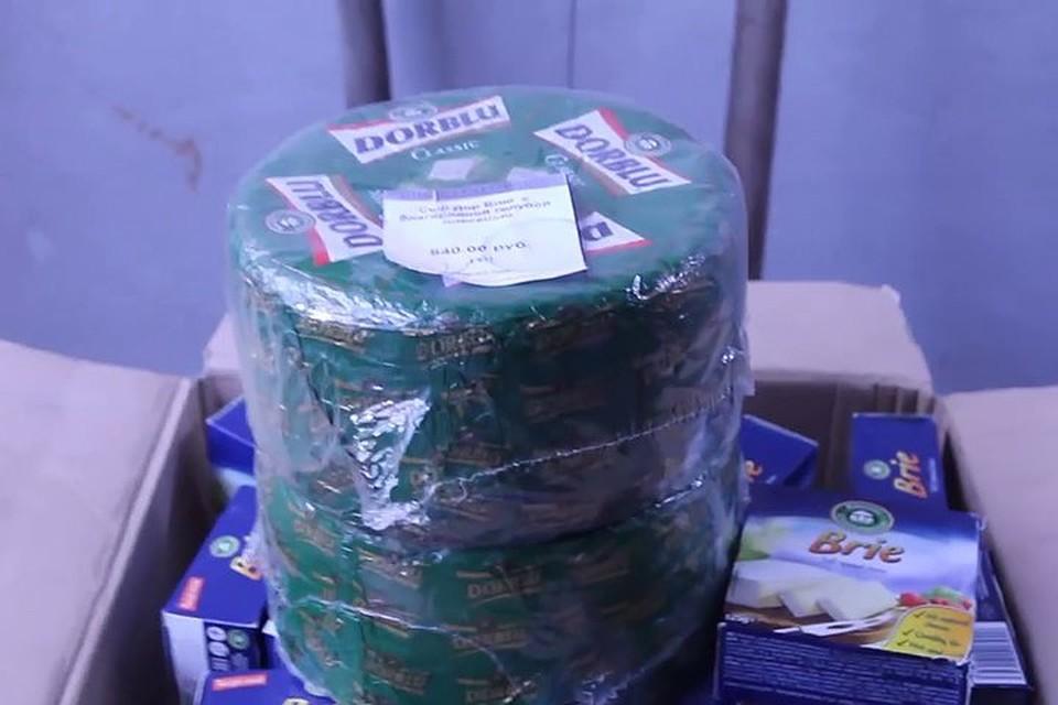 ВКрасноярском крае уничтожили 12кг германского сыра