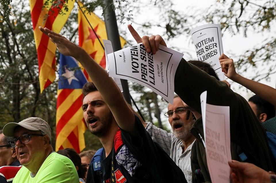 Сепаратизм вКаталонии: Кремль озвучил свою позицию