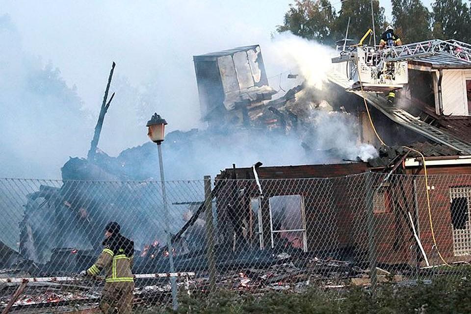 ВЦентральной Швеции неизвестные подожгли мечеть