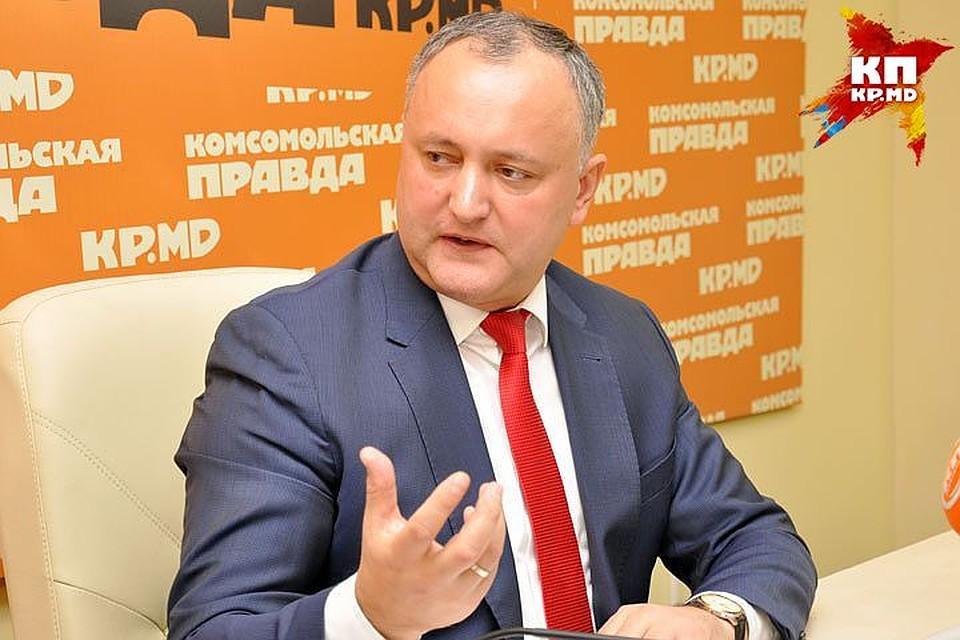 Президент Молдавии разъяснил запрет на заезд русским корреспондентам