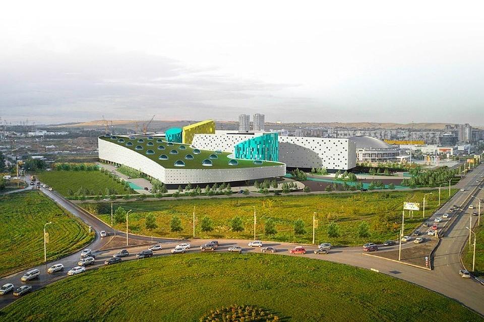Пар, вода илед: специалисты выбрали эскиз аквапарка вКрасноярске