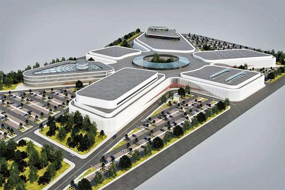 Архитектурное жюри выбрало проект будущего аквапарка
