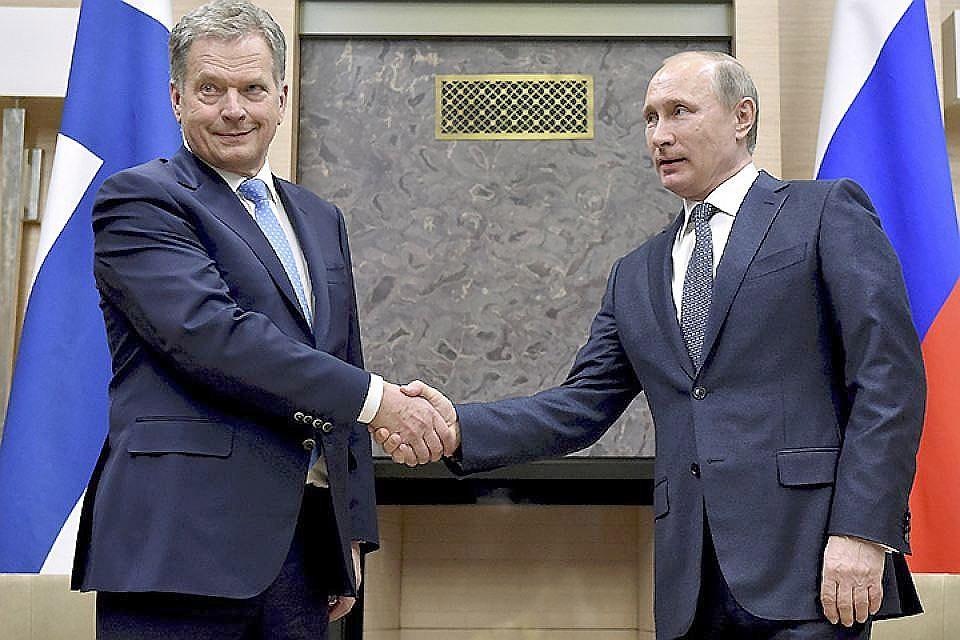 Путин поведал Ниинистё оплане поразмещению миротворцев навостоке Украинского государства
