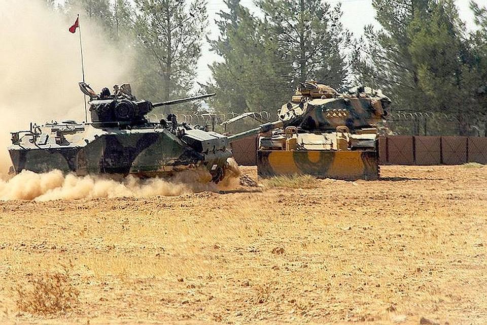 Генштаб Турции объявил оначале операции вИдлибе