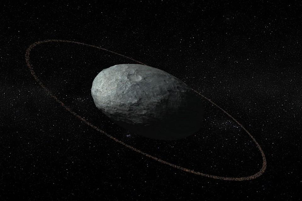 Ученые отыскали кольца у миниатюрной планеты Хаумеа