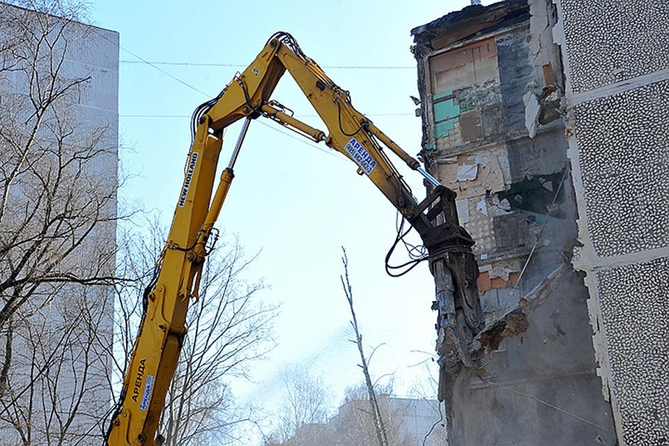 В руководстве одобрили проект налоговых льгот для участников реновации