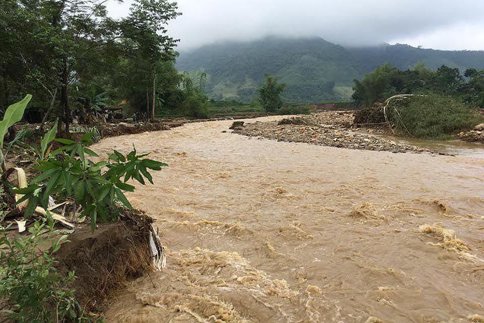 ВоВьетнаме врезультате наводнения иоползней погибли около 40 человек