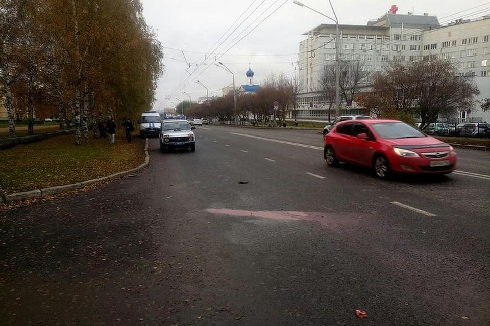 Засутки вКемерове 4 пешехода пострадали вДТП