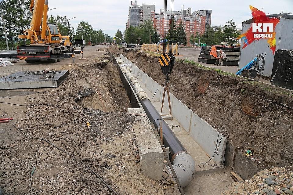 ВСоветском районе Красноярска стартовало строительство нового проезда