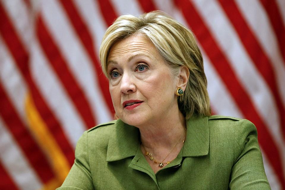 РФ стремилась навредить мне напрезидентских выборах— Клинтон