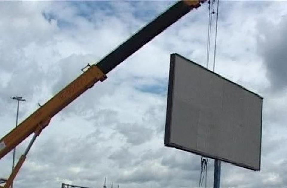 Вцентре Тулы неостанется рекламных щитов