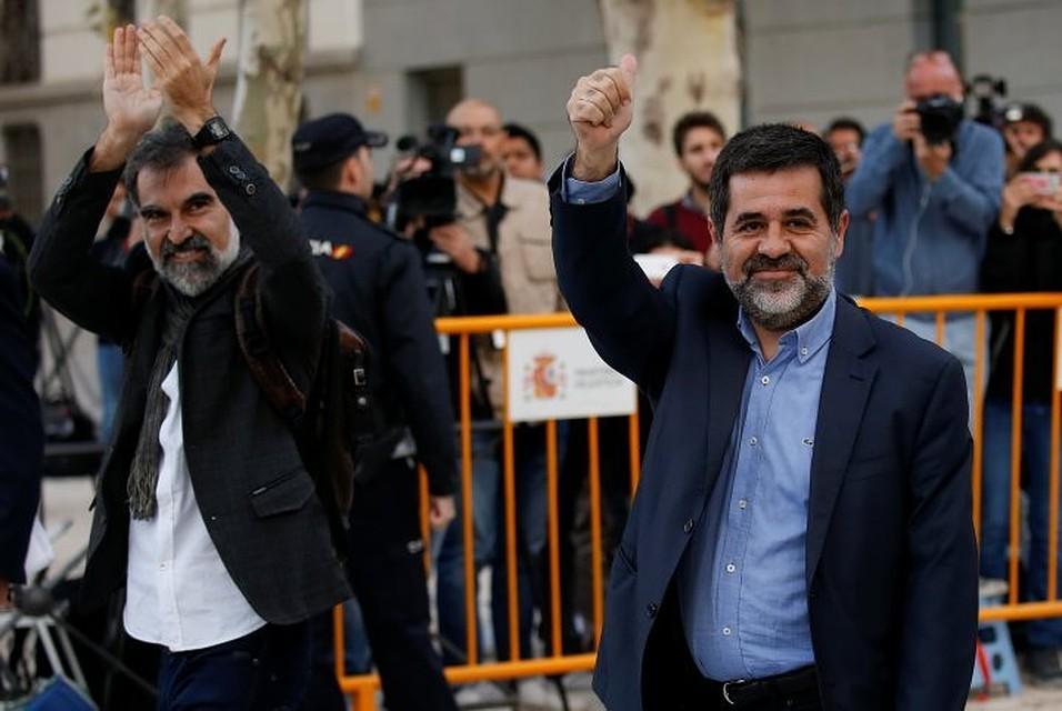 ВИспании суд арестовал лидеров 2-х каталонских компаний