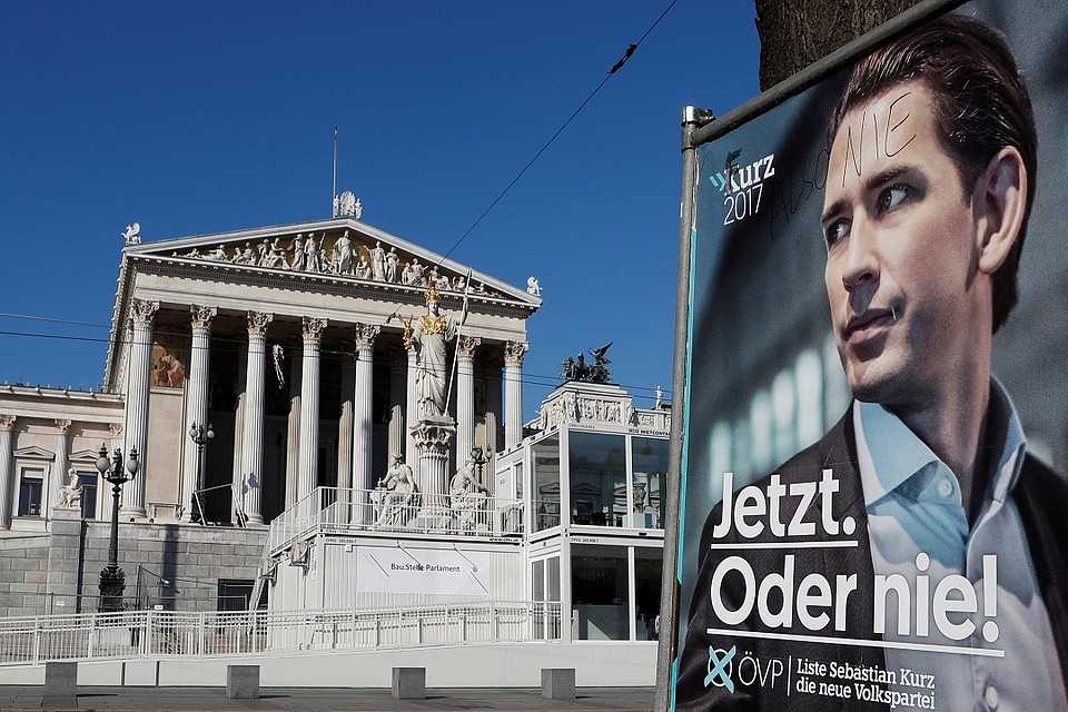 Партия Курца одолела напарламентских выборах вАвстрии