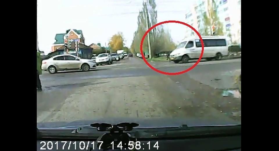 ВБашкирии маршрутка сбила ребёнка наперекрёстке