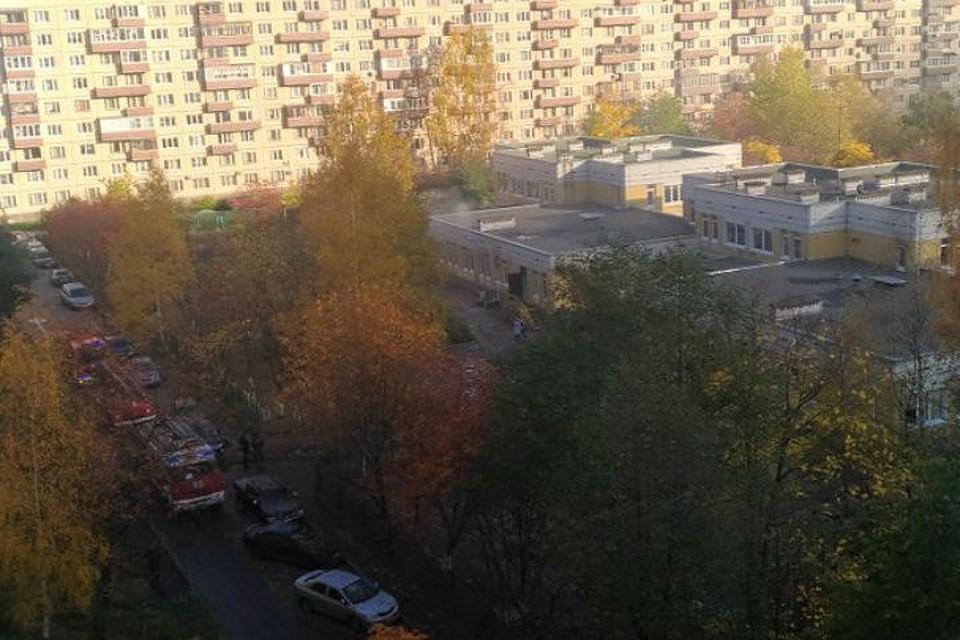 Вдетсад наТельмана вПетербурге приезжали cотрудники экстренных служб