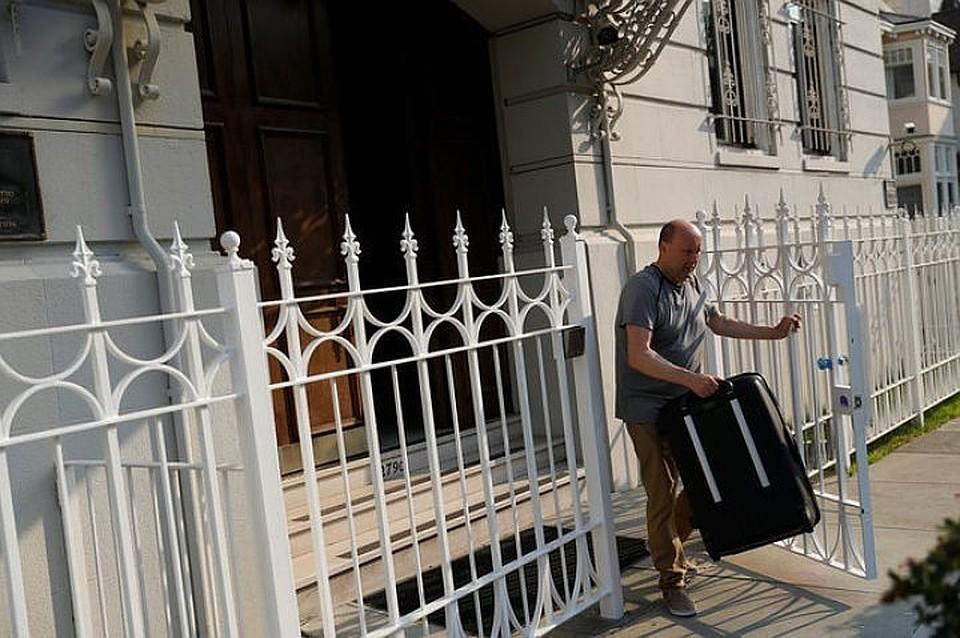 США передалиРФ архив закрытого доэтого консульства вСан-Франциско