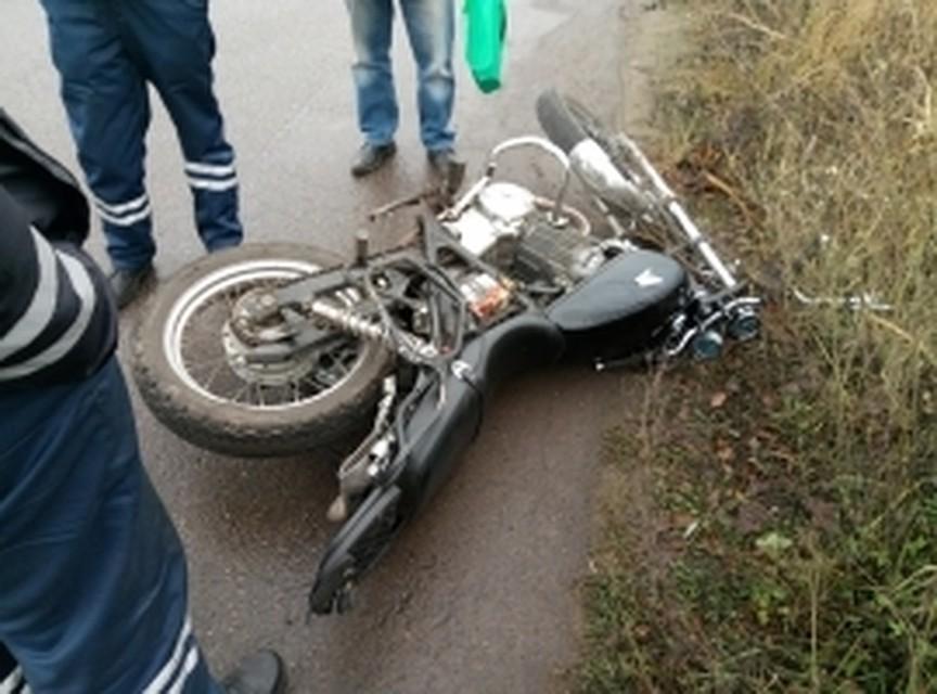 ВЯрославском районе шофёр «пятнашки» сбил мотоциклиста ипопытался исчезнуть