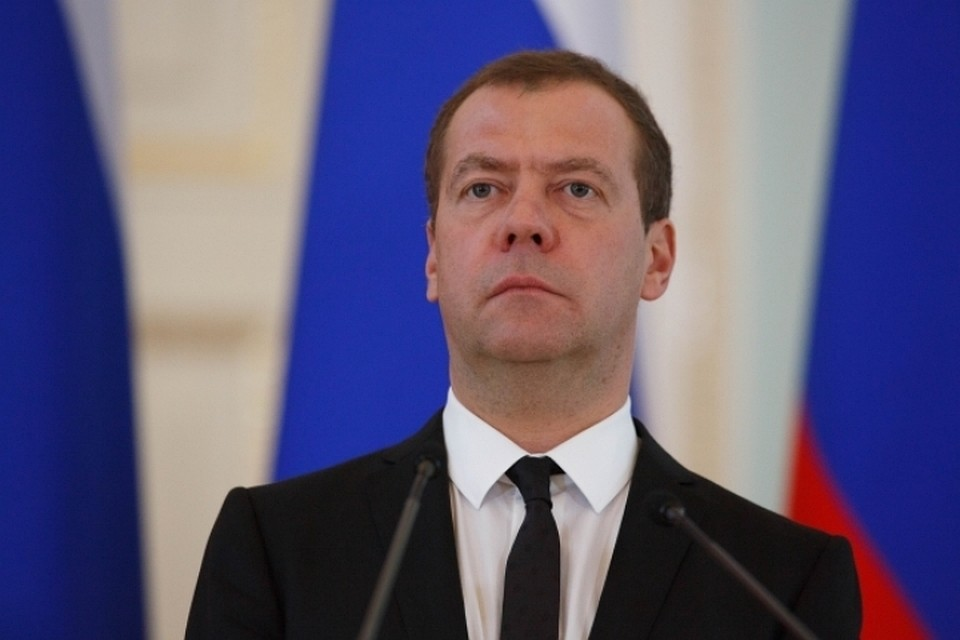 Медведев прибыл напереговоры вПекин