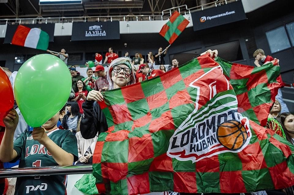 Баскетболисты «Локомотива-Кубани» обыграли «Бильбао» вматче Кубка Европы