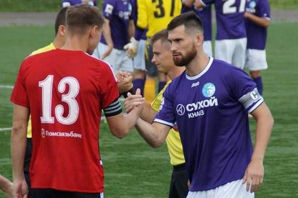 Оба наказаных заставки футболиста принимали энергичное участие вигре— руководитель КДК