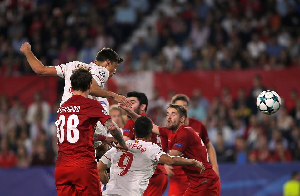 «Спартак» уступил «Севилье» срезультатом 1:2 вматче Лиги чемпионов