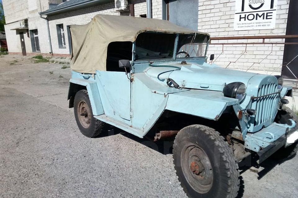 Легендарный ГАЗ 1949г. выпуска выставили на реализацию вБарнауле