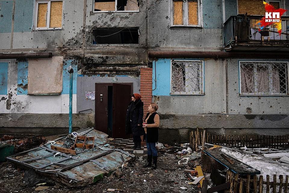ВДонбассе сообщили  овзрывах навоенном складе