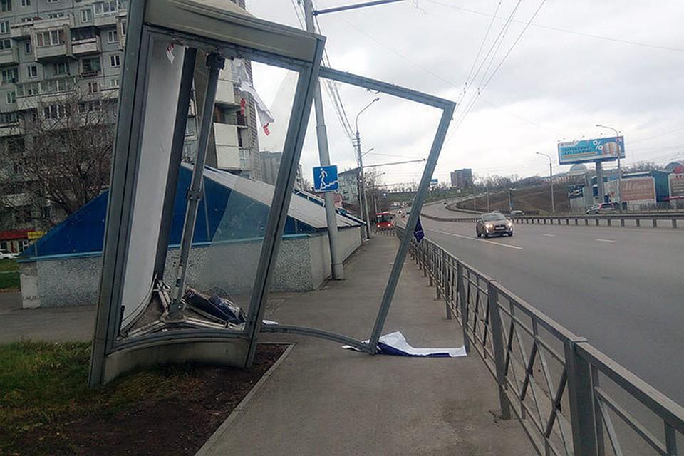 МЧС предупредило красноярцев обопасном сильном ветре вгороде 9ноября