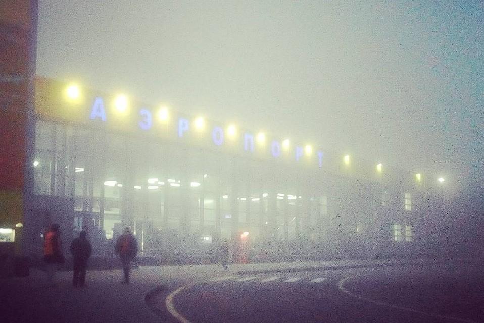 Аэропорт Ставрополя временно закрыт из-за густого тумана