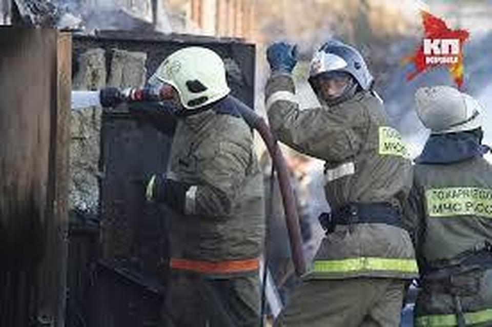 НаКиришской улице пожарные спасли мужчину