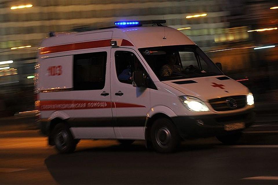 Петербург: шофёр иномарки умер вДТП наМаршала Жукова