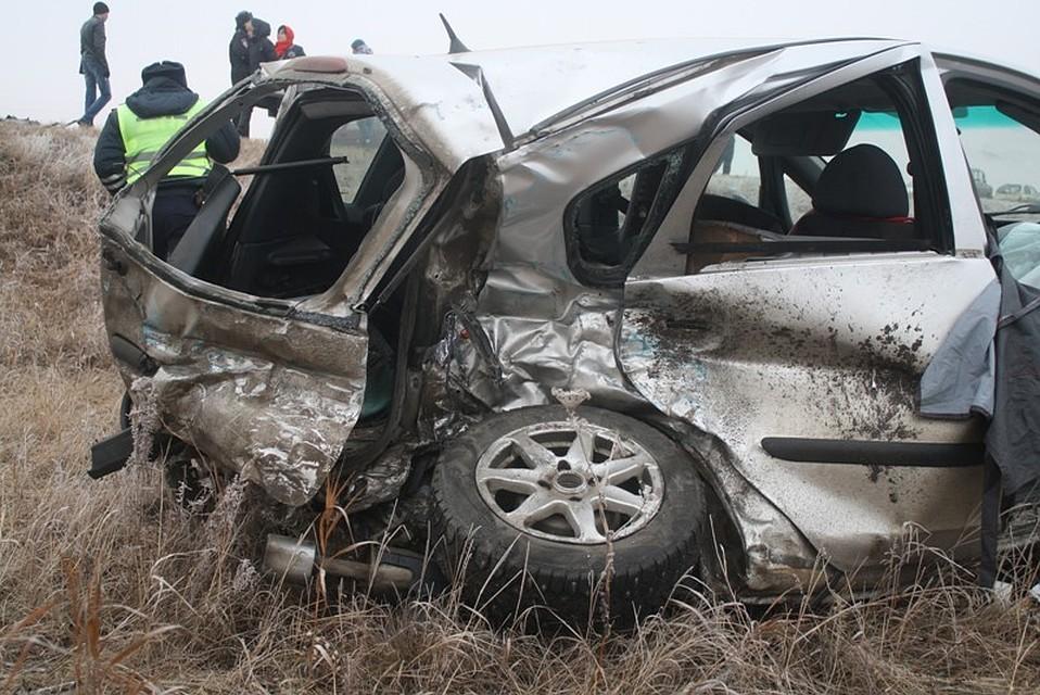 Две женщины погибли встолкнувшейся с«Нивой» иномарке под Троицком