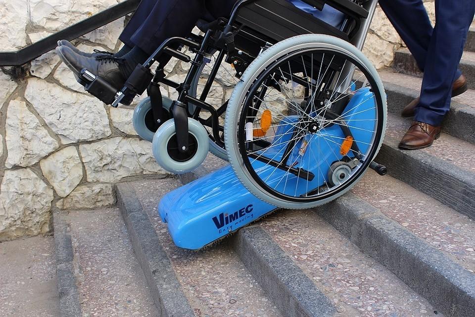 ВРостов были привезены  универсальные лестничные подъемники для инвалидов-колясочников