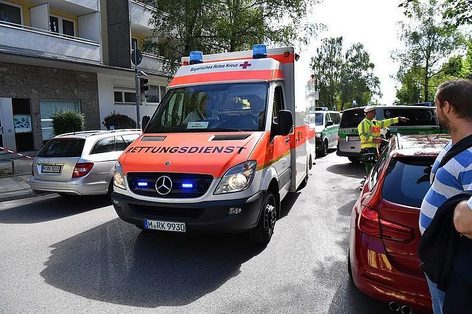 28 детей пострадали вДТП сошкольным автобусом вГермании