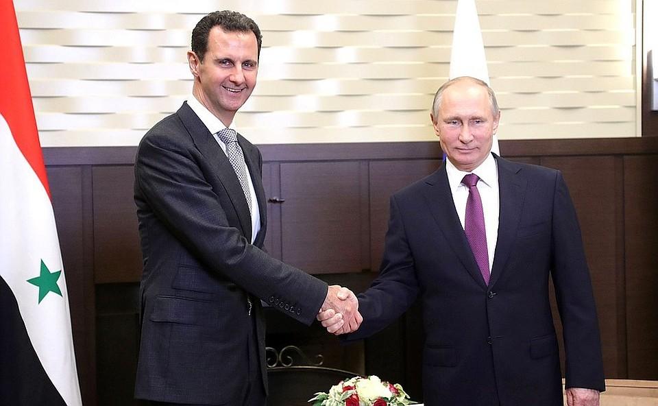 Путин иТрамп проведут телефонные переговоры поСирии